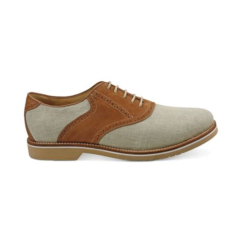 bass oxford shoes g h bass co carson saddle oxfords in beige for
