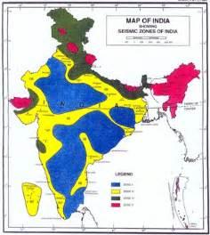earthquake zone 2 earthquake zones of india