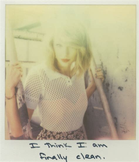 taylor swift clean song see all 65 of taylor swift s 1989 polaroids shine on media