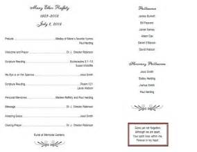 Fill in the blank obituary template funeral program templates