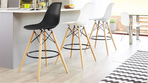 Pub Style Bar Stools by Eames Replica Bar Stool High Quality Uk Fast Delivery
