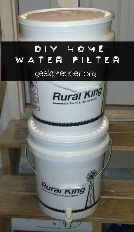 diy filter diy home water filter