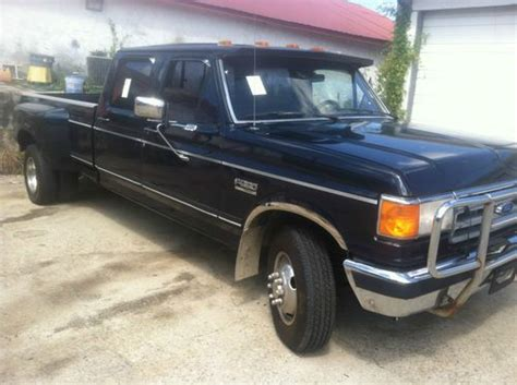 1989 ford f350 find used 1989 ford f350 7 3 diesel crew cab in