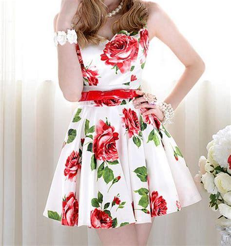 Dress Vintage Dr 005 vintage fashion flower show dress on luulla
