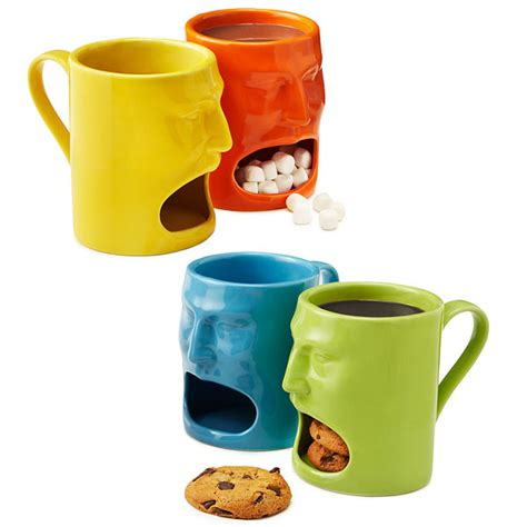 coolest mugs warm or cool face mugs set