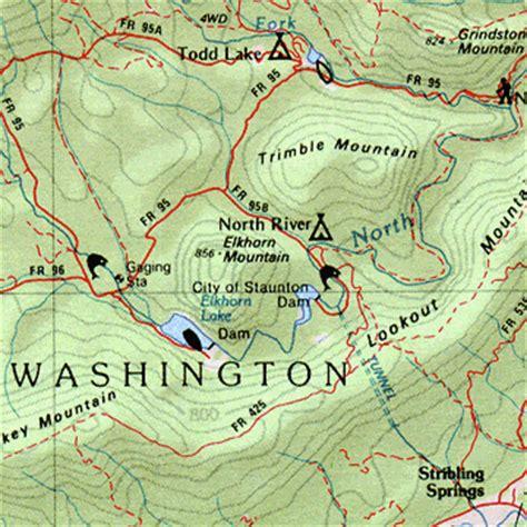 virginia topographic map virginia delorme atlas road maps topography and more