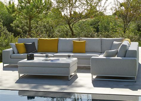 manutti zendo corner garden sofa garden sofas modern