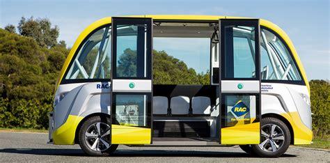 australias  autonomous bus hits  road  perth  caradvice