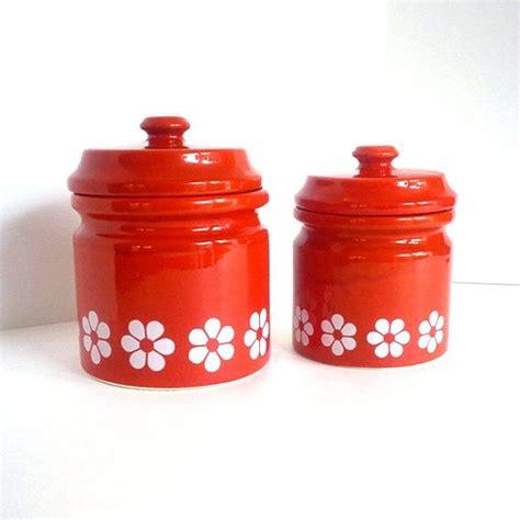 canisters astonishing orange kitchen canisters ceramic