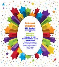 retirement invitation graphics