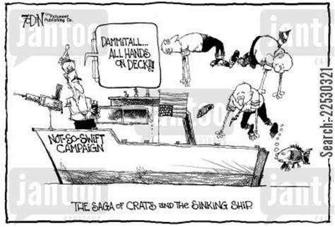 swift boat politics veterans cartoons humor from jantoo cartoons