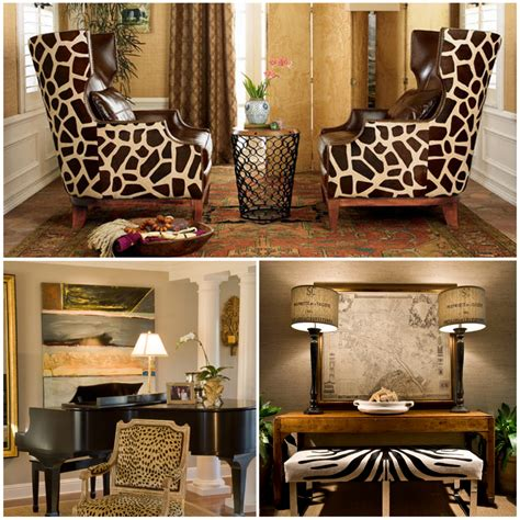In Home Decor Animal Print Pattern Trend Out Of Africa And Into Your Home