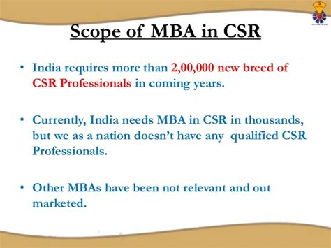 Mba In Csr Mysore mba in corporate social responsibility
