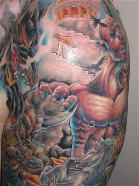 greek mythology tattoo tattoos by designs mythology meanings and