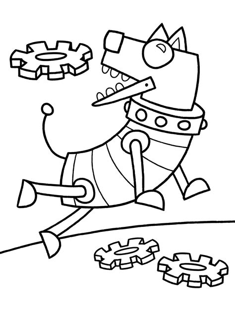 robot dog coloring page robot dog printable coloring sheet for kids