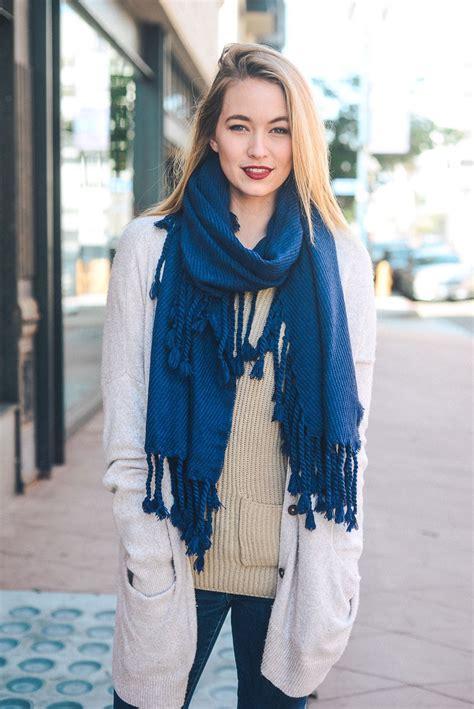 oversized knit scarves oversized tassel knit scarf