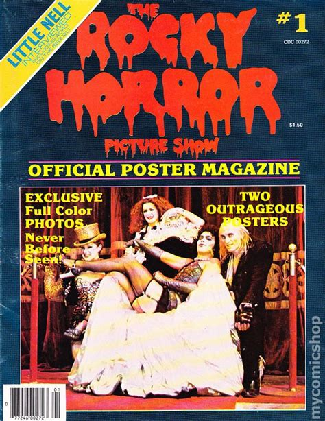 rocky horror picture show book rocky horror picture show official poster magazine comic books