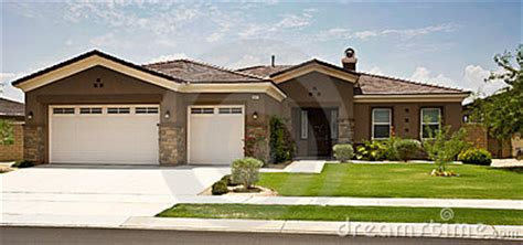 tract home tract home modern southern california stock photography
