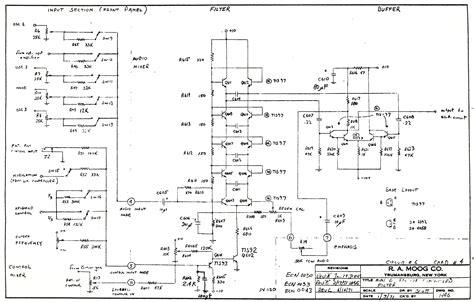diode ladder filter schematic moog schematics metafilter