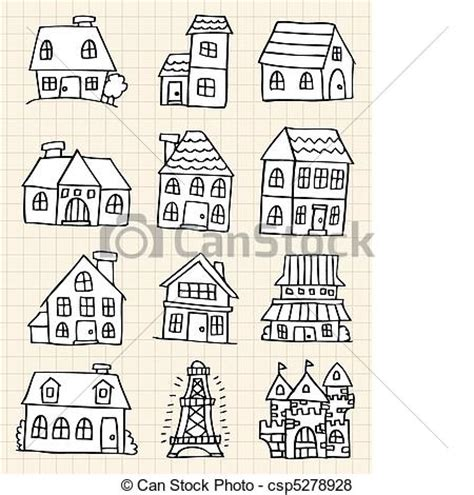 English Cottage Style House Plans vector of hand draw cute house hand draw cute house