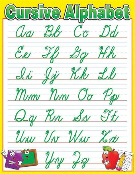 Tall Writing Desk 25 Best Ideas About Cursive Alphabet Chart On Pinterest