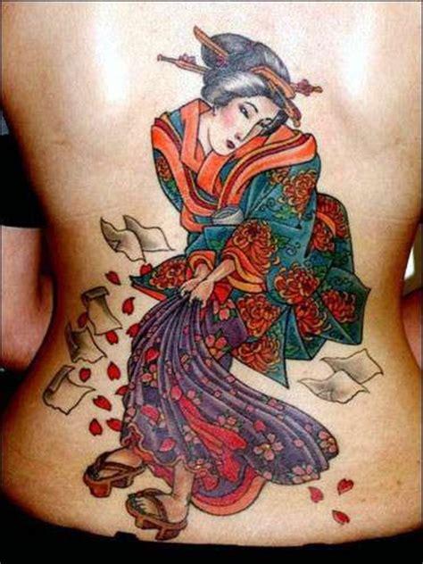 tattoo geisha di kaki tatuaggi giapponesi significato e disegni di quelli pi 249