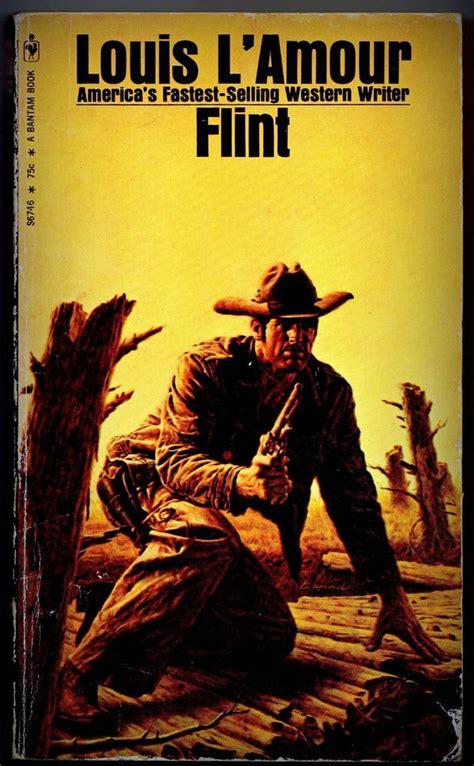 film cowboy amour flint paperback by louis l amour bantom 1971 cowboy old