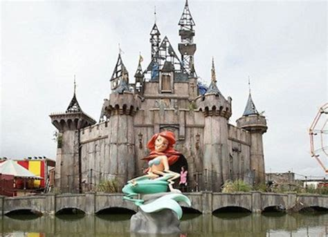 theme park near bristol banksy opens a new apocalyptic theme park called