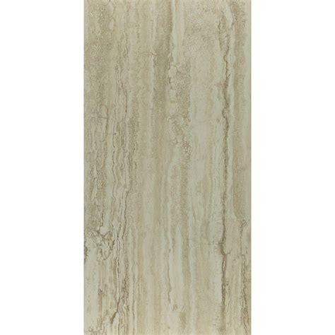 trafficmaster ceramica 12 in x 24 in roman travertine beige vinyl tile flooring 29 sq ft