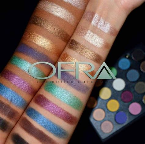 Eyeshadow Wardah Seri H Review ofra week ofra pro eyeshadow palette review swatches blushh