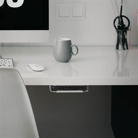 Mac Mini Mount Desk by Sabrent Sabrent Mac Mini Vesa Mount Wall Mount