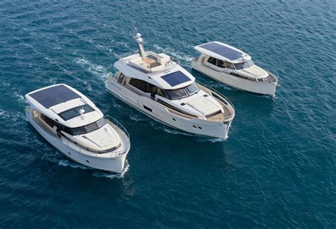 greenline boats shock and awesome beneteau goes hybrid with a swift