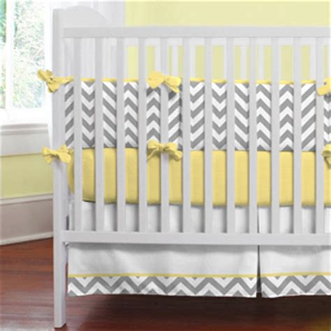 Yellow Gray Crib Bedding by For How To Design A Nursery