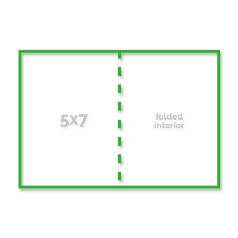 template for folded 5x7 note card press templates simply color lab
