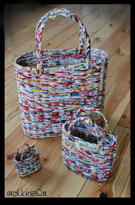 Craft Paper Basket - 25 unique newspaper basket ideas on paper