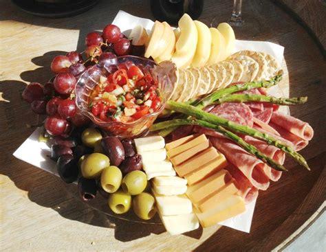 Grapes And Wine Home Decor antipasto platter della terra farm