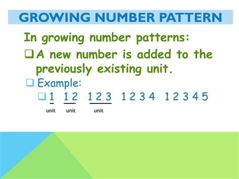 growing pattern numbers ppt repeating and growing patterns powerpoint