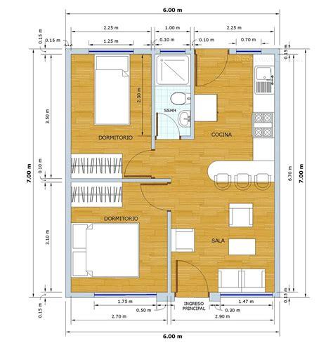 metros cubicos a metros cuadrados planos de casa peque 241 a de 42 metros cuadrados