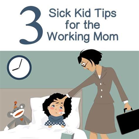 sick kid    working mom digital mom blog
