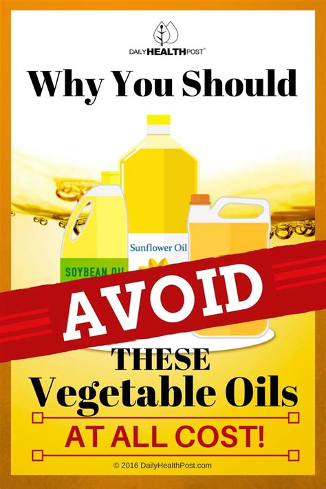 Should You Do All The Cooking by Why You Should Avoid These Vegetable Oils At All Cost