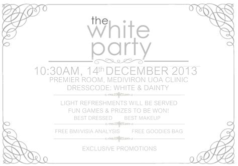 party invitation layout ideas all white party invitations theruntime com