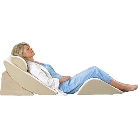 Relax The Back Wedge Pillow by Purefit Adjustable Wedge System Arrange Four Pieces For