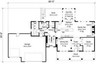 sunroom floor plans vaulted sunroom and open family room 14334rk 2nd floor