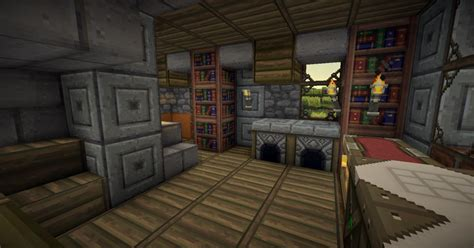 Minecraft Bathroom Designs by Fantasy Medieval House Practice 3 Interiors With Download