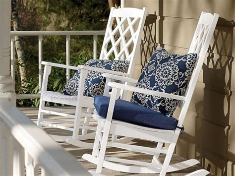 Concept Ideas For Bistro Cushions Design Outdoor Rocking Chair Cushions Best Home Design 2018