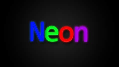 tutorial photoshop neon photoshop cs6 neon color text effect tutorial youtube
