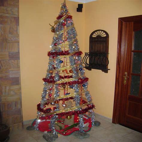 arbol navidad casero manualidades