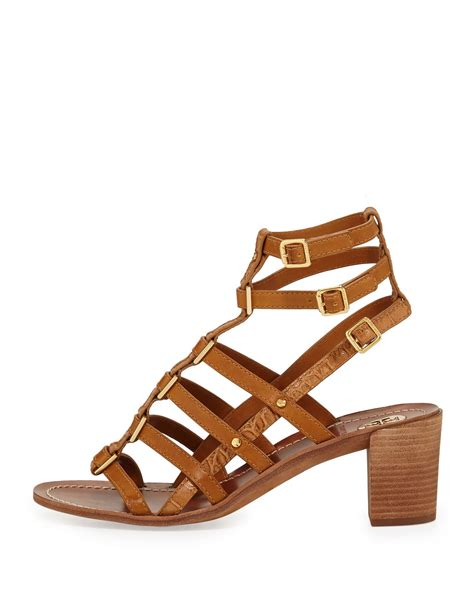 burch gladiator sandals burch reggie leather gladiator sandal in brown