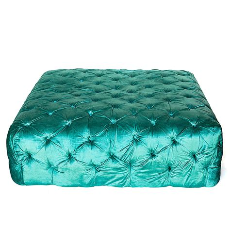teal ottoman tufted teal ottoman 28 images duncan large tufted teal