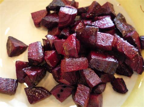 dinner roasted beets